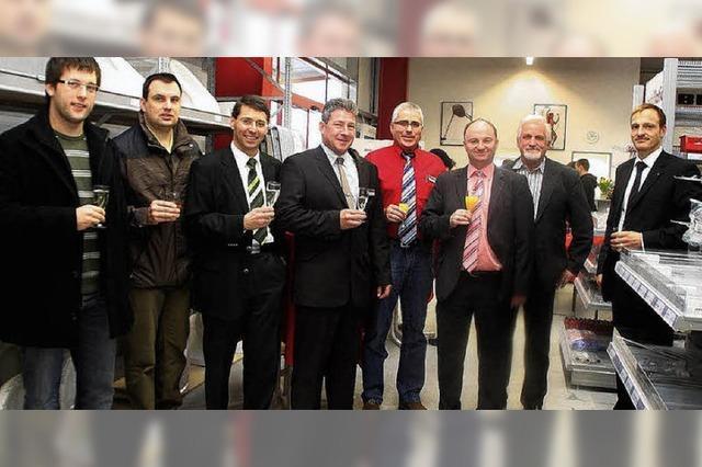 Bucher eröffnet auf DYN A 5 ein Abholexpresslager für Haustechnik