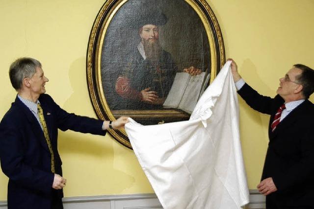 Faust-Porträt eines unbekannten Malers als Leihgabe