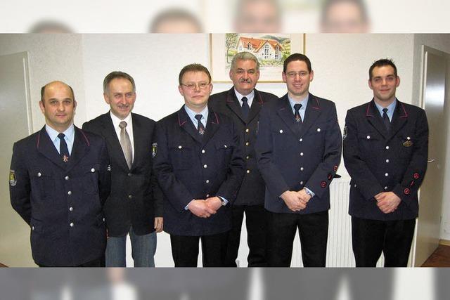 Einige Änderungen in der Führung der Feuerwehr