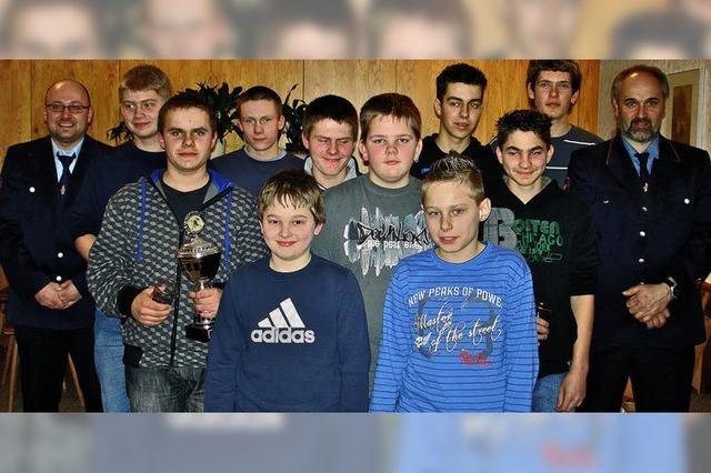Ein dickes Lob für die Jugendwehr