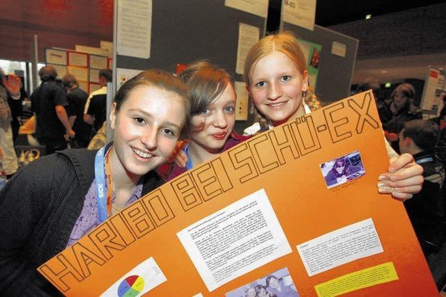Schüler zeigen echten Forscherdrang