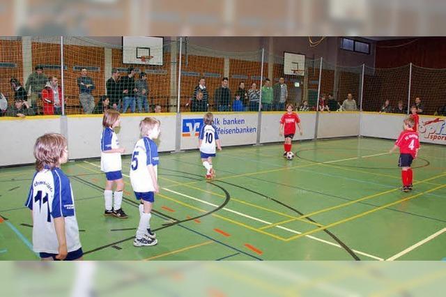 Fußballnachwuchs motiviert und spielfreudig