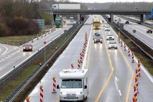 A5-Ausbau: Polizei erwartet mehr schwere Unfälle