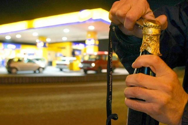 Nächtliches Alkoholverbot: Tankstellen befürchten Umsatzeinbruch