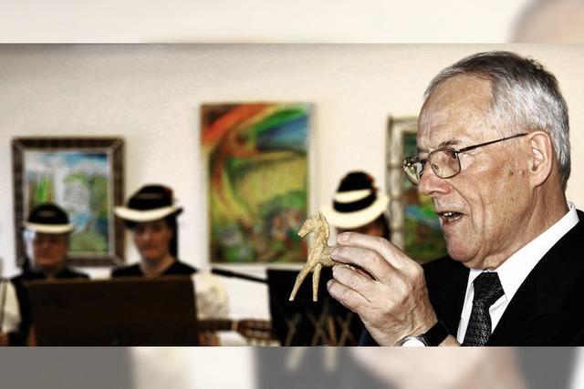 Glottertäler Ehrenbürger beeindruckt in Sigmaringen