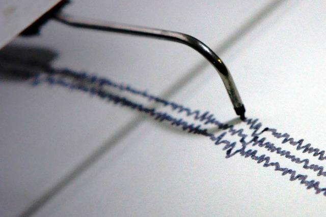 Erdbeben auf der Schwäbischen Alb