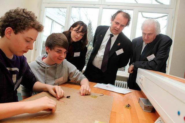 Endress+Hauser eröffnet Jugendtechnikzentrum