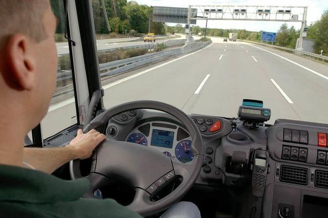 Wegen des Nutzens vertrauen Trucker den Navis blind