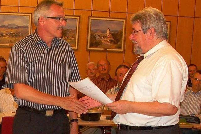 Willi Weiß tritt zur Bürgermeisterwahl an
