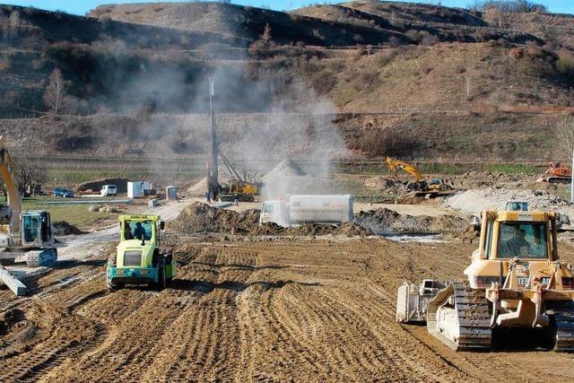 Arbeiten am Regenrückhaltebecken werden um rund 700.000 Euro teurer