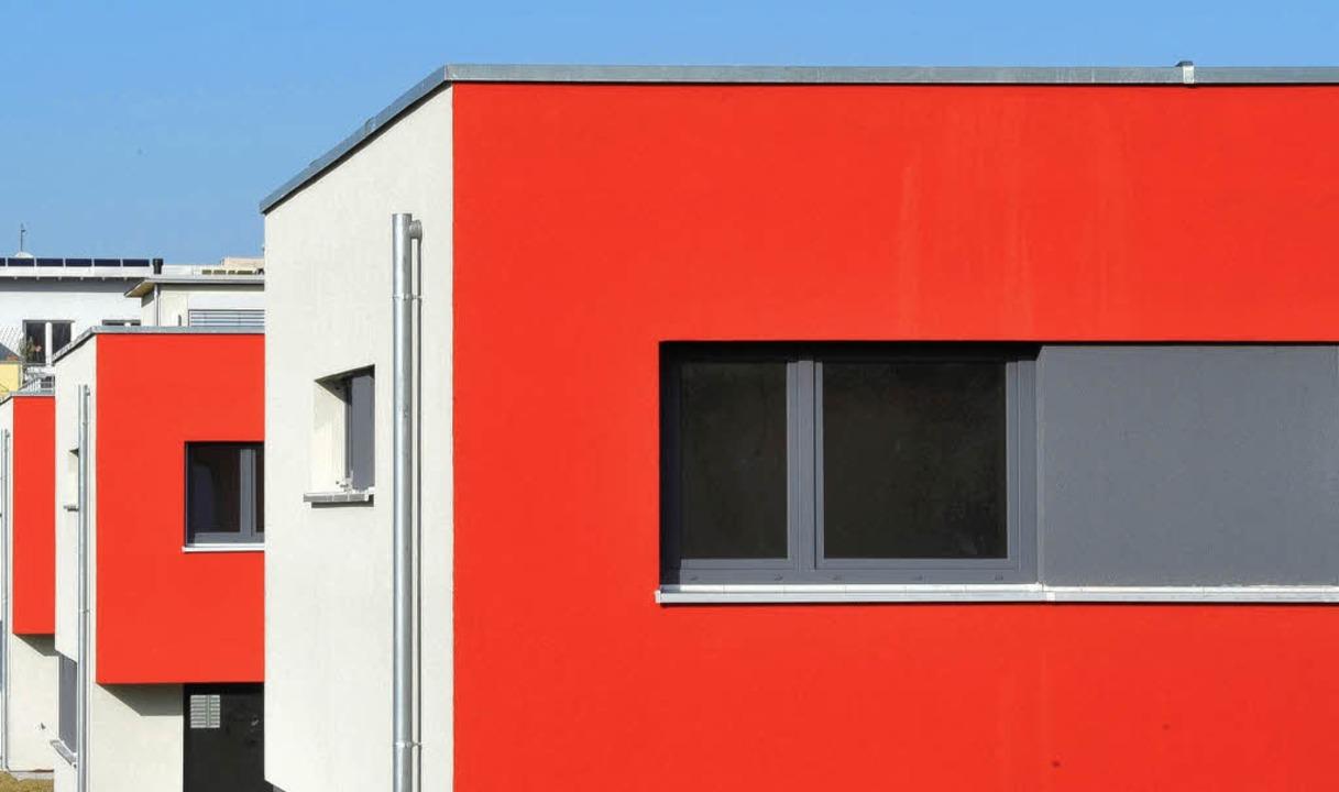 Ein Projekt von vielen: Die Stadtbau e...er am Hanni-Rocco-Platz im Rieselfeld.    Foto: bamberger