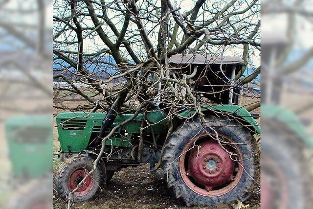 Traktor auf Abwegen