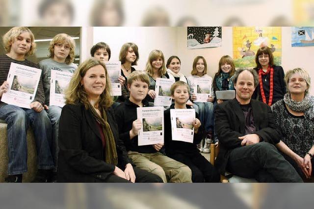 Schüler greifen begeistert zur Feder und entwickeln Geschichten