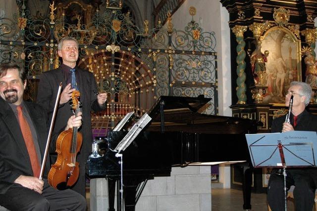 Solisten, die auch als Trio begeistern