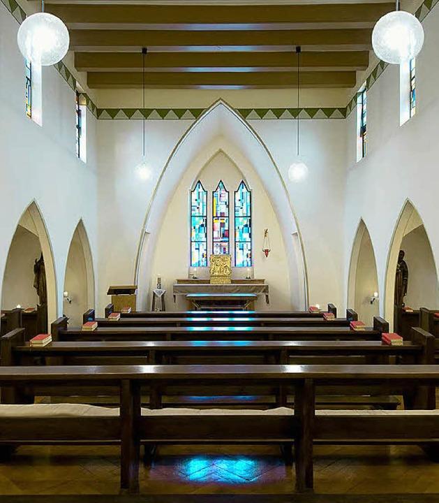 Regelmäßig finden in der kleinen Hauskapelle Gottesdienste statt.  | Foto: Klinik