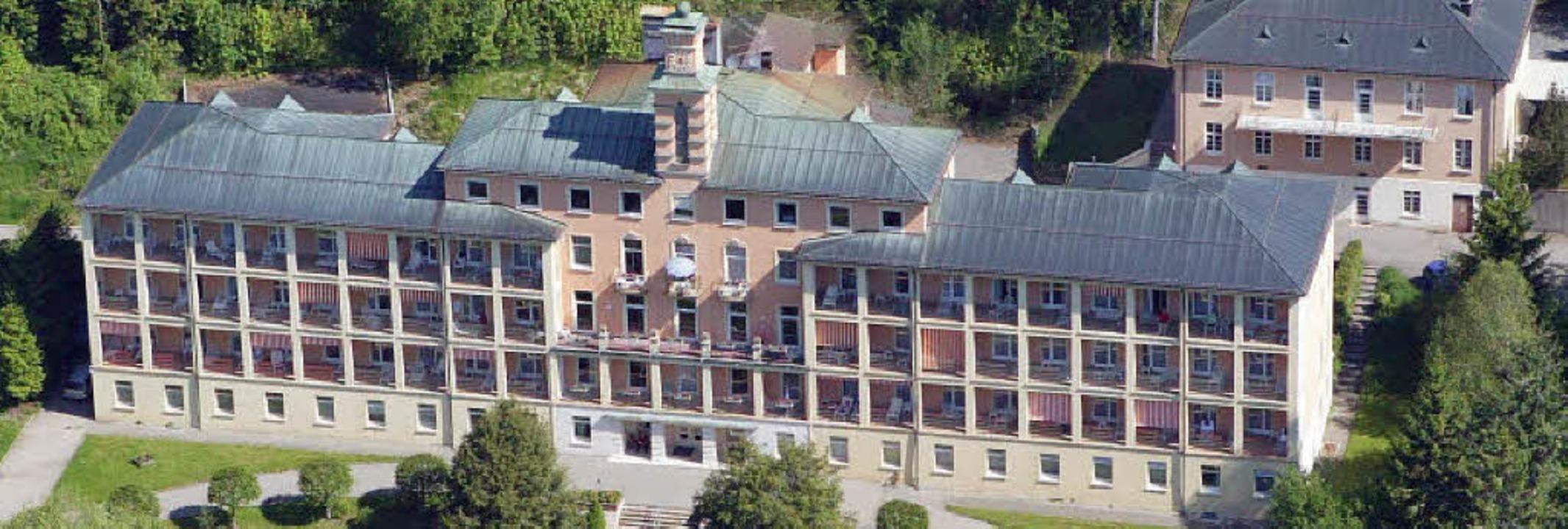 In den 80er Jahren  bezog die Feldberg...nst eine Lungenklinik beherbergt war.   | Foto: Klinik