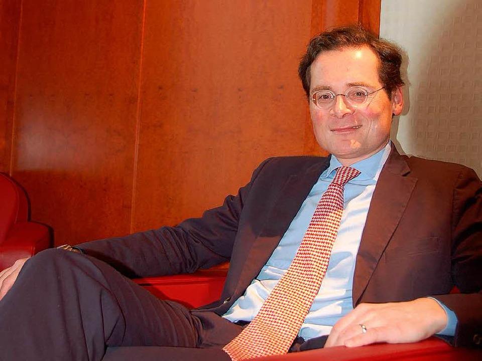 Überzeugungstäter mit Konfirmandengesicht: Roger Köppel  | Foto: Schmider