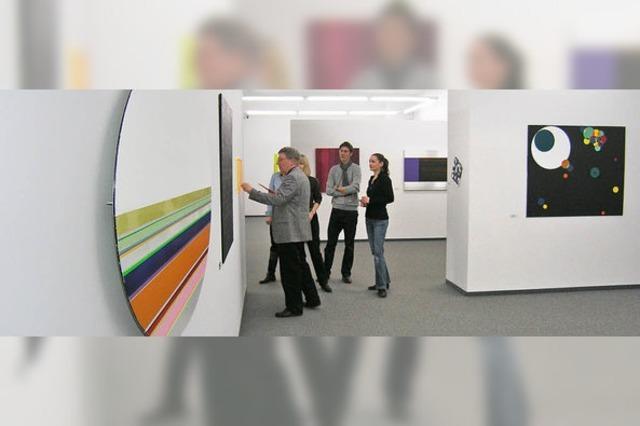 Lebendige Vielfalt der konkret-konstruktiven Malerei