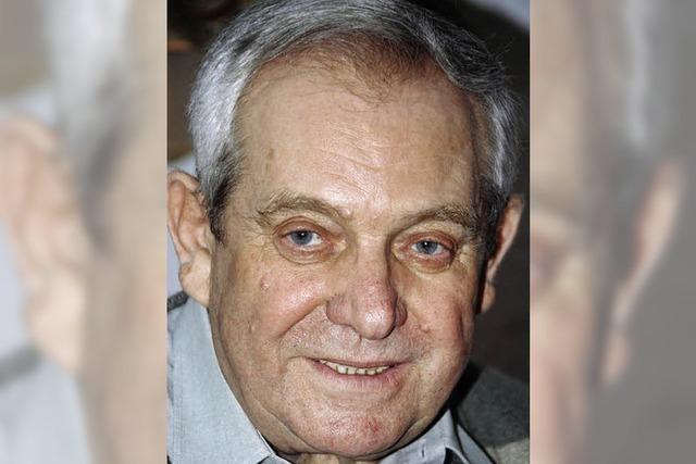 Josef Meyer 80 Jahre alt