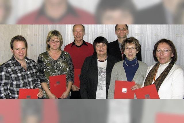 Trotz alledem: Von Trauer keine Spur bei der Vörstetter SPD