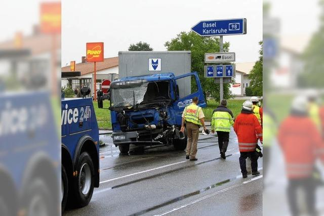 Polizei bestätigt: ein Unfallschwerpunkt