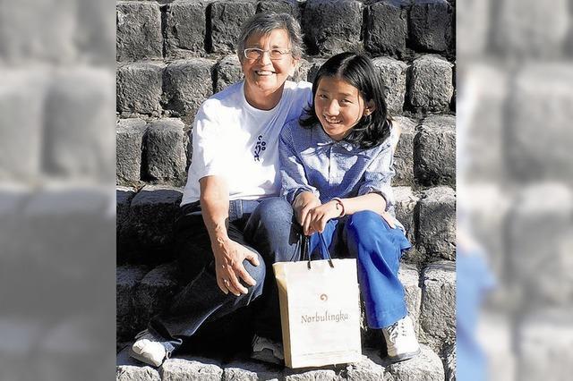 Herz für tibetische Kinder