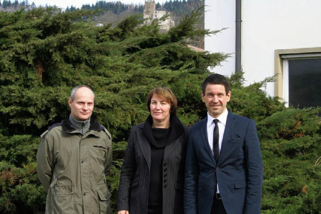 Dieter Loos, Ursula Kühn und Michael F...Klimabotschaftern ausgebildet werden.   | Foto: Karin Heiss