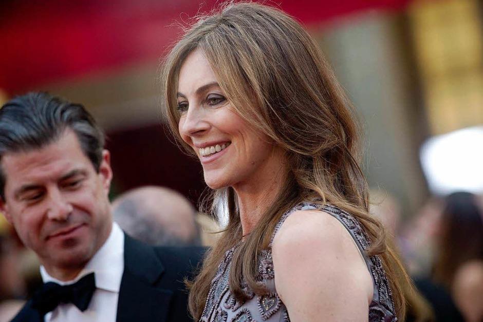 Der Star des Abends: Regisseurin Kathryn Bigelow (Foto: dpa)