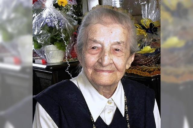 Erna Grafmüller wurde 100 Jahre