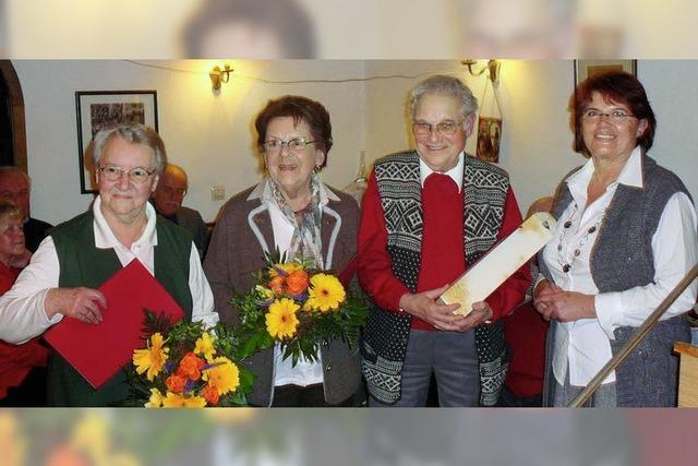 Schwarzwaldverein hat drei neue Ehrenmitglieder
