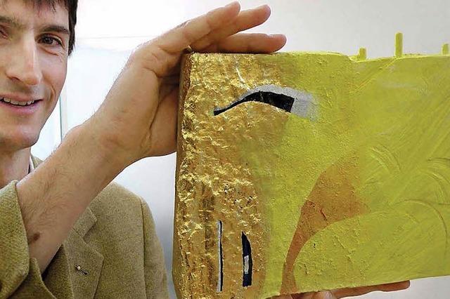 Zeit und Raum in Gold