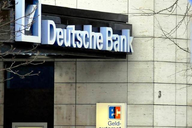 Deutsche Bank in Freiburg sieht keine Kreditklemme