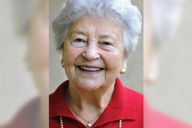 Die langjährige Stadträtin Margarete Hartmann wird heute 90 Jahre