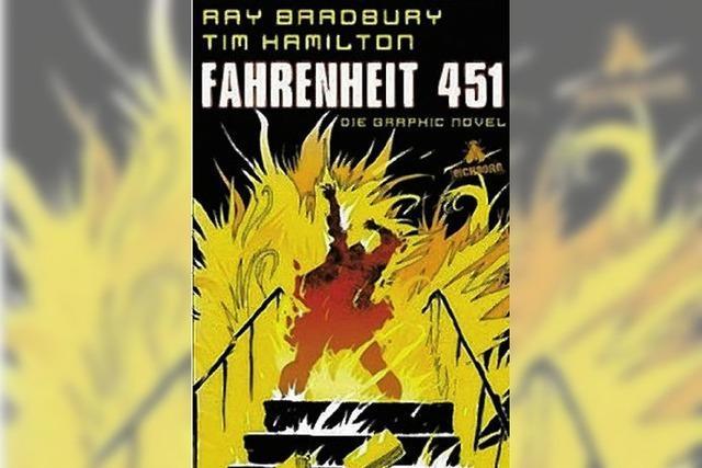 COMIC I: Bücher im Feuer