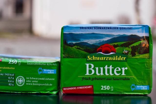 Etikettenschwindel: Schwarzwälder Butter kommt aus dem Allgäu