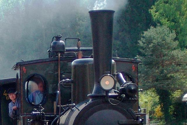 Alte Loks und nostalgische Bahnhöfe