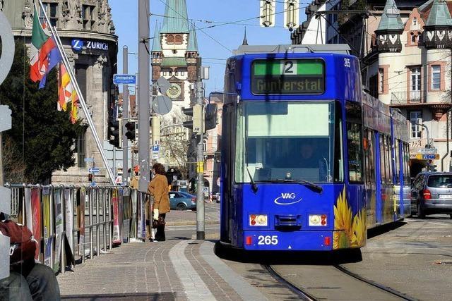 Diskussion um ein Kurzstreckenticket in Freiburg