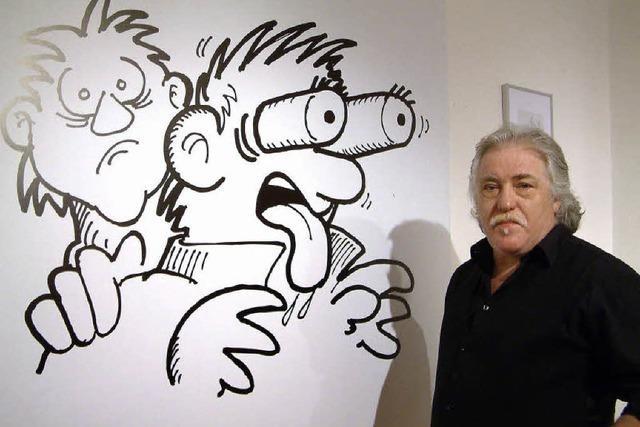 Jeannots pieksende Karikaturen