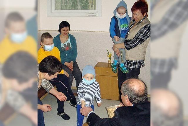 Hilfe, die auch 24 Jahre nach Tschernobyl dringend notwendig bleibt