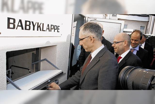Kreisweit erste Babyklappe in Villingen-Schwenningen
