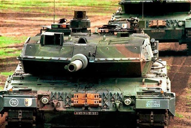 Deutschland ist Waffengroßhändler