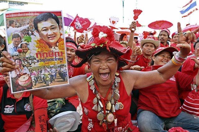 Massenprotest in Thailand