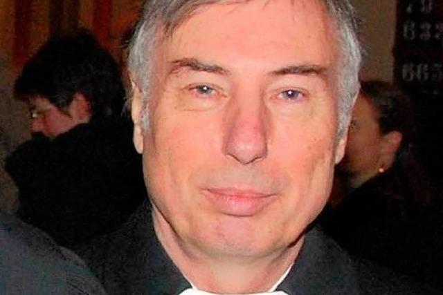 Technisch versierter Gottesmann in Pension