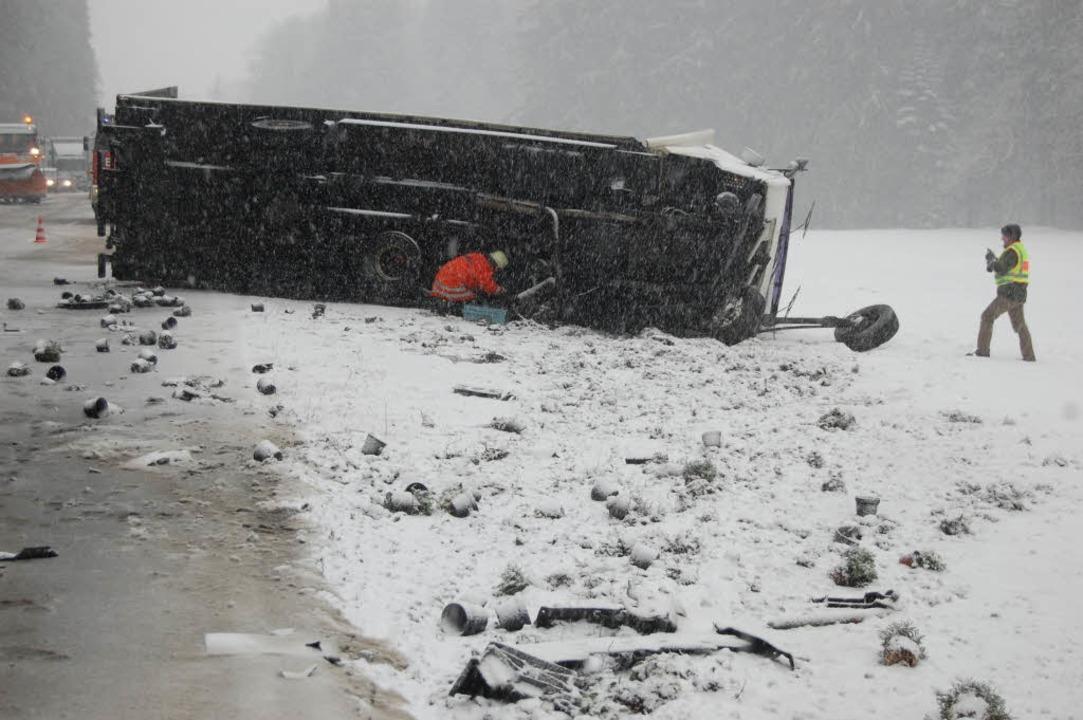 Unfall im Höllental    Foto: Martin Ganz