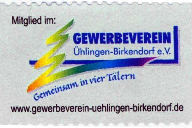 Gewerbeverein hat eigene Briefmarke