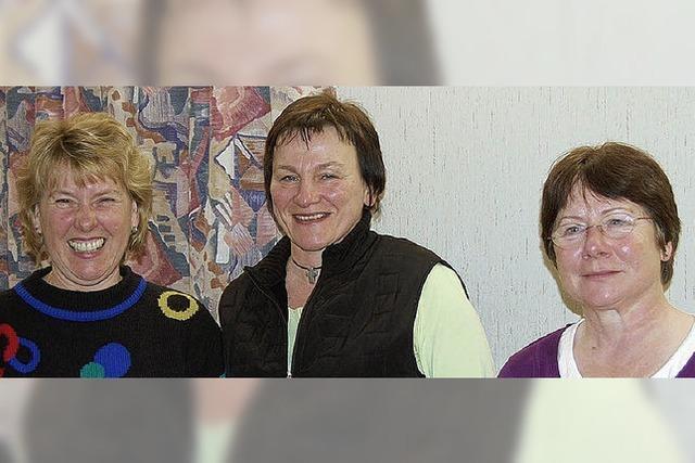 Drei neue Gesichter im Leitungsteam