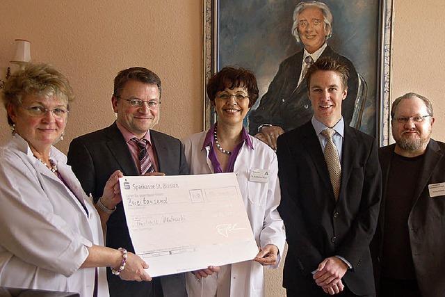 Patienten und Mitarbeiter spendeten für Tymoteusz