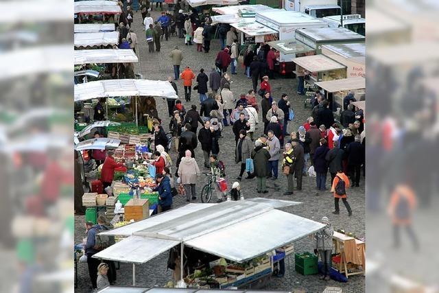 Mehr Münstermarkt, weniger Autos