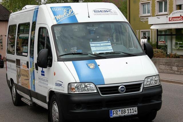 Bürgerbus soll auf Vereinsbasis rollen