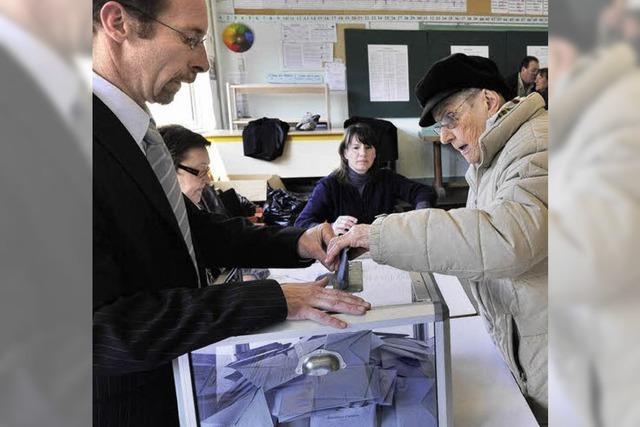 Bürger der Partnerstadt wählen links